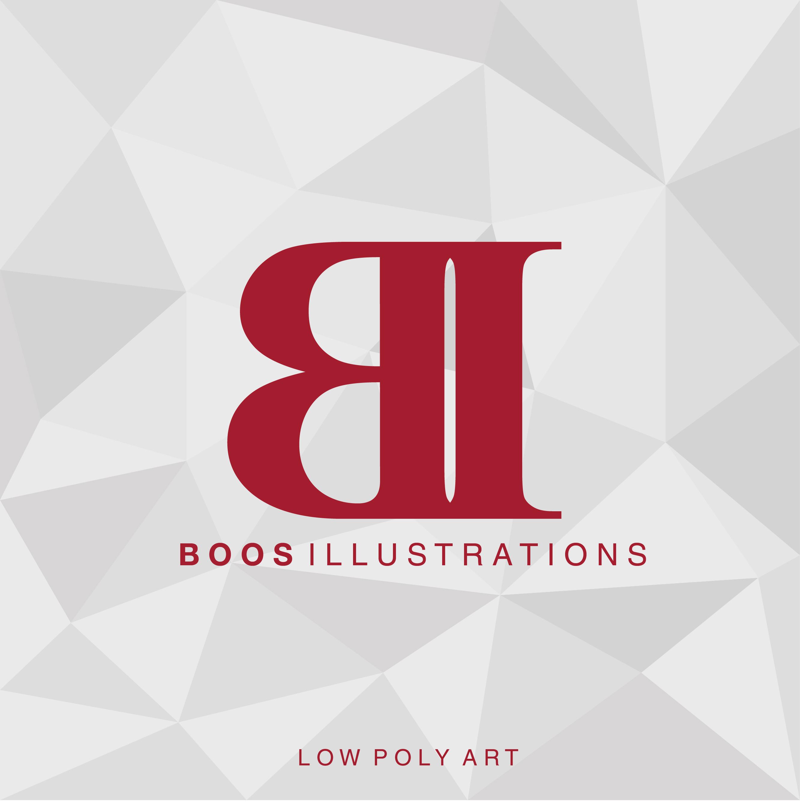 Boos Illustration logo